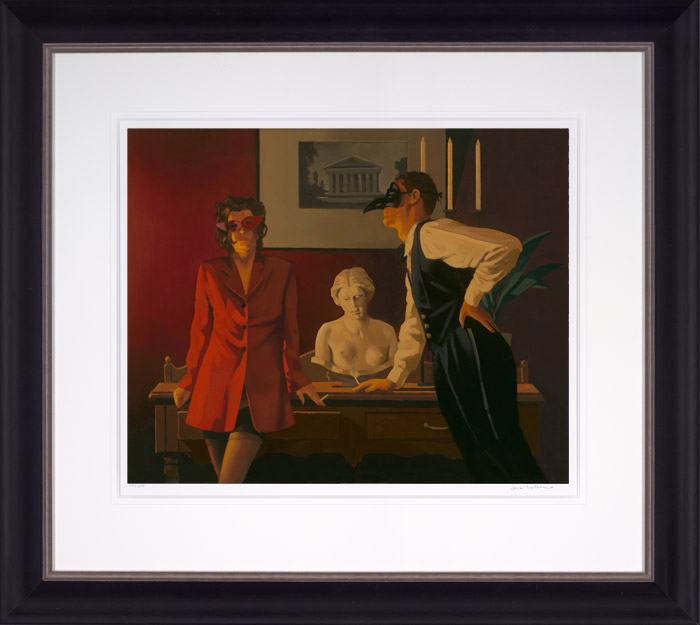 The Sparrow & The Hawk by Jack Vettriano
