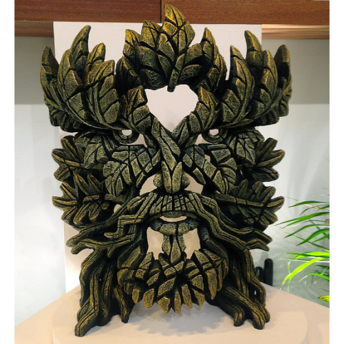 Green Man Bust by Matt Buckley of Edge Sculptures