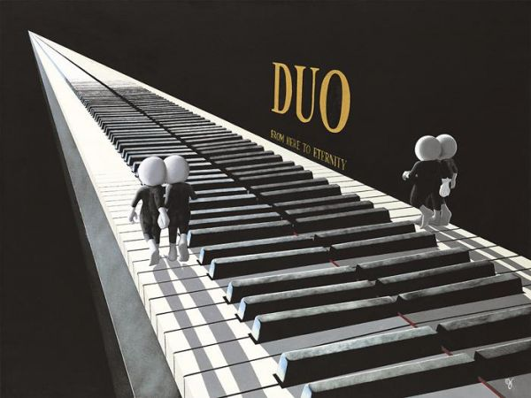 Duo by Mark Grieves (3D High Gloss)
