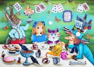 It's Always Tea Time by Stephanie Jacques