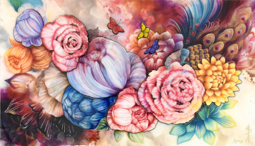 Floral by Kerry Darlington