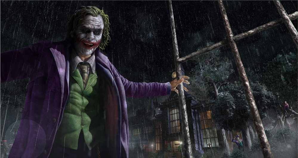 How To Train A Joker original by Sam Denmark