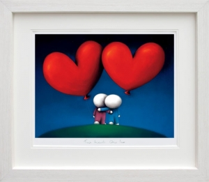 Two Hearts One Love by Doug Hyde (framed)