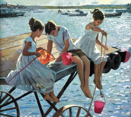 The Perfect Summer's Day by Sherree Valentine Daines