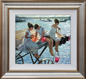 The Perfect Summer's Day by Sherree Valentine Daines (framed)