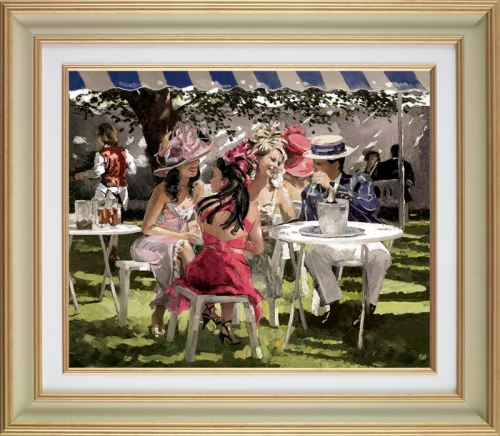 The Social Season deluxe by Sherree Valentine Daines (framed)