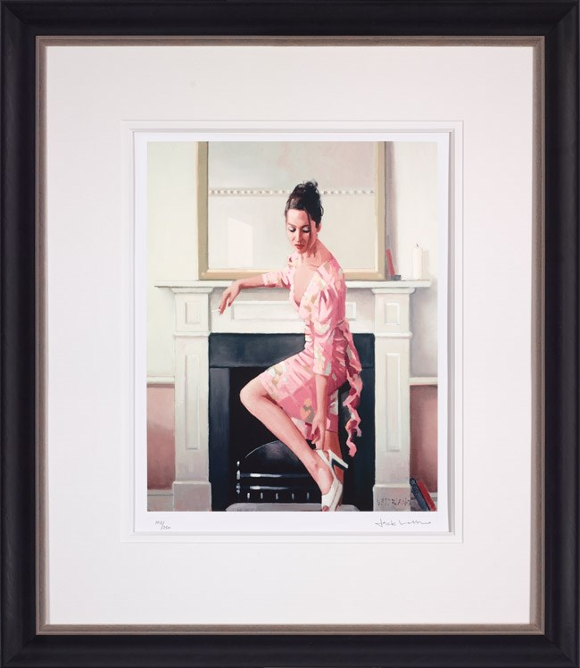 Model in Westwood by Jack Vettriano