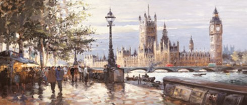 Morning on the Embankment