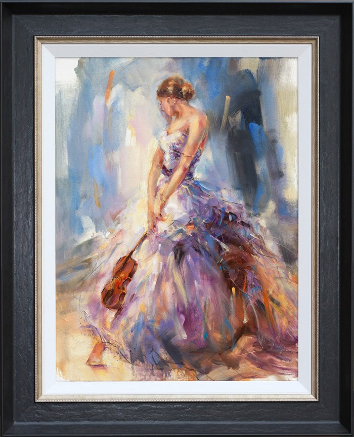 Flirting with a Violin by Anna Razumovskaya