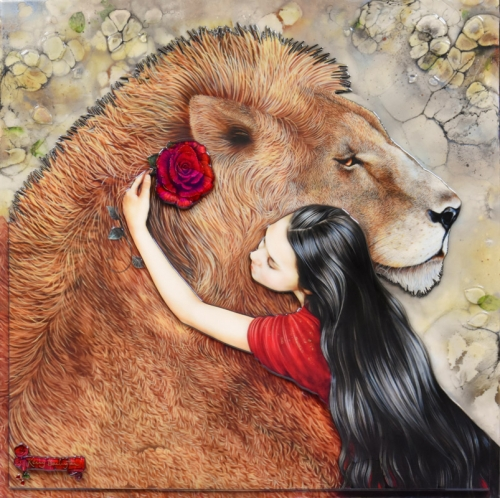 Beauty and the Beast by Kerry Darlington