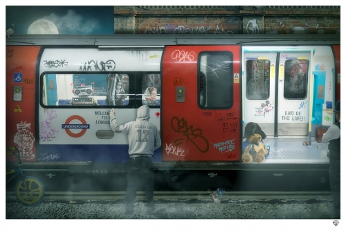 London Tube by JJ Adams