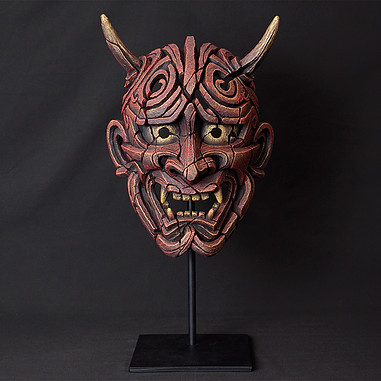 Japanese Hannya Mask
