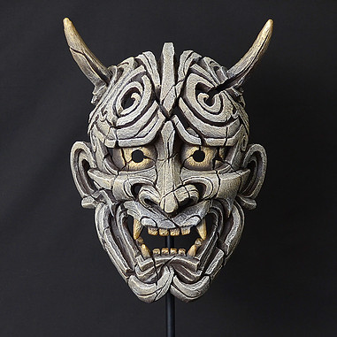 Japanese Hannya Mask white