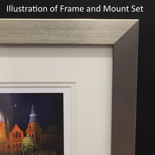 Keith Drury Frame and Mount sample