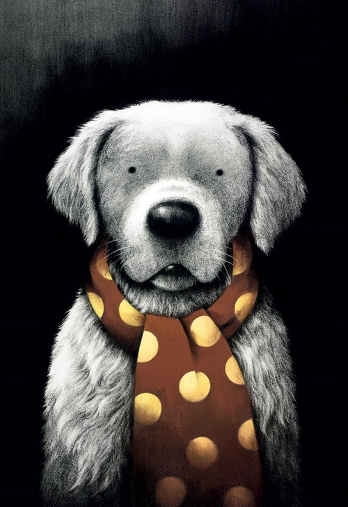 Mans Best Friend by Doug Hyde Unframed