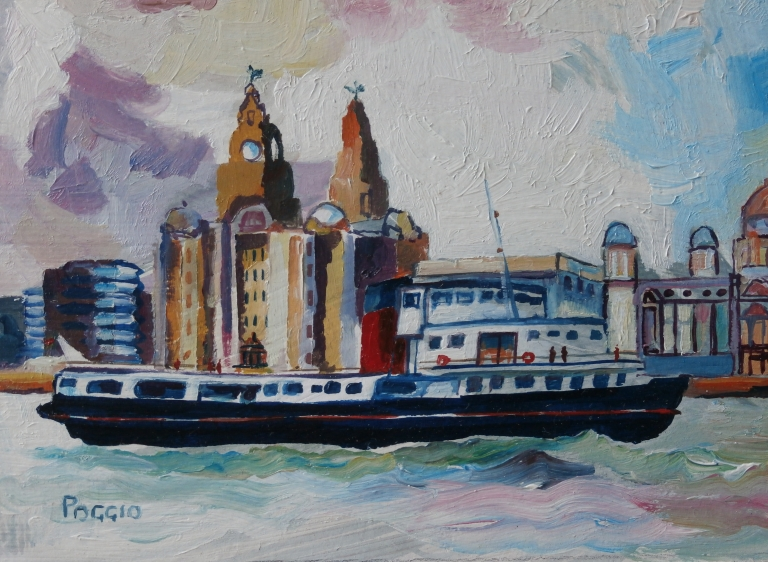 Liver Building and Ferry #1