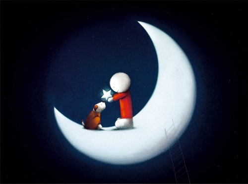 You're my star by Doug Hyde unframed