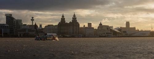 Liverpool Ferry by Eli Pascall Willis