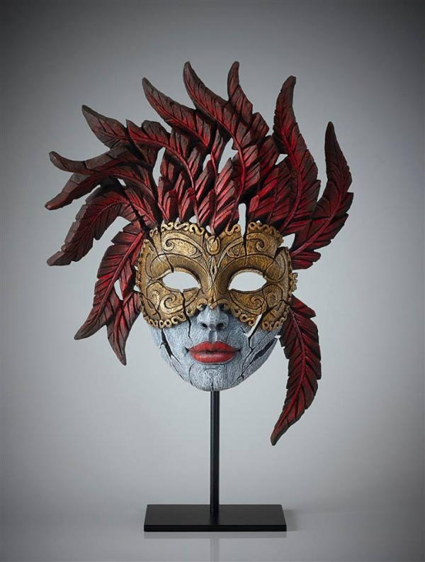 Carnival Mask (Masquerade) Edge Sculpture