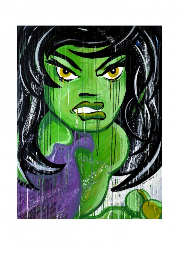 She-Hulk by Sophie Green
