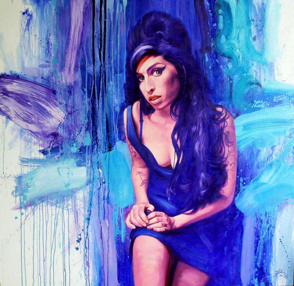 Amy Winehouse by Bob Goldsborough