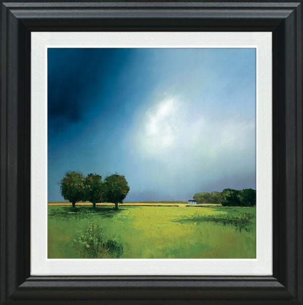 Green Fields Of Home framed