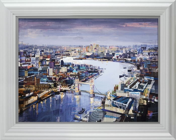 Raring to Glow Framed By Tom Butler