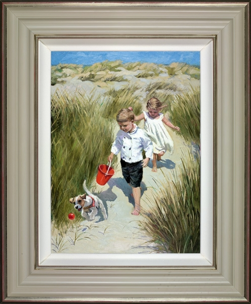 Sand Dune Haven (framed) by Sherree Valentine Daines