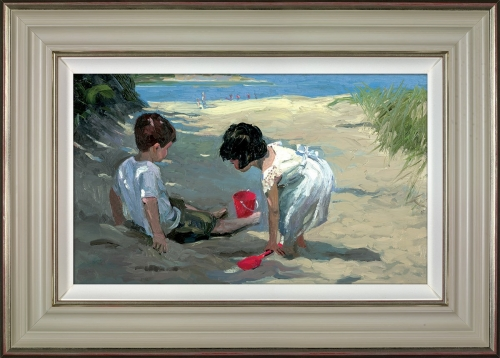 Shady Retreat (framed) by Sherree Valentine Daines