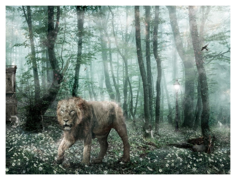 Deliver Us From Evil (Aslan Narnia) - Large by Mark Davies