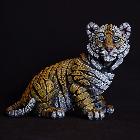Tiger Cub by Matt Buckley of Edge Sculptures