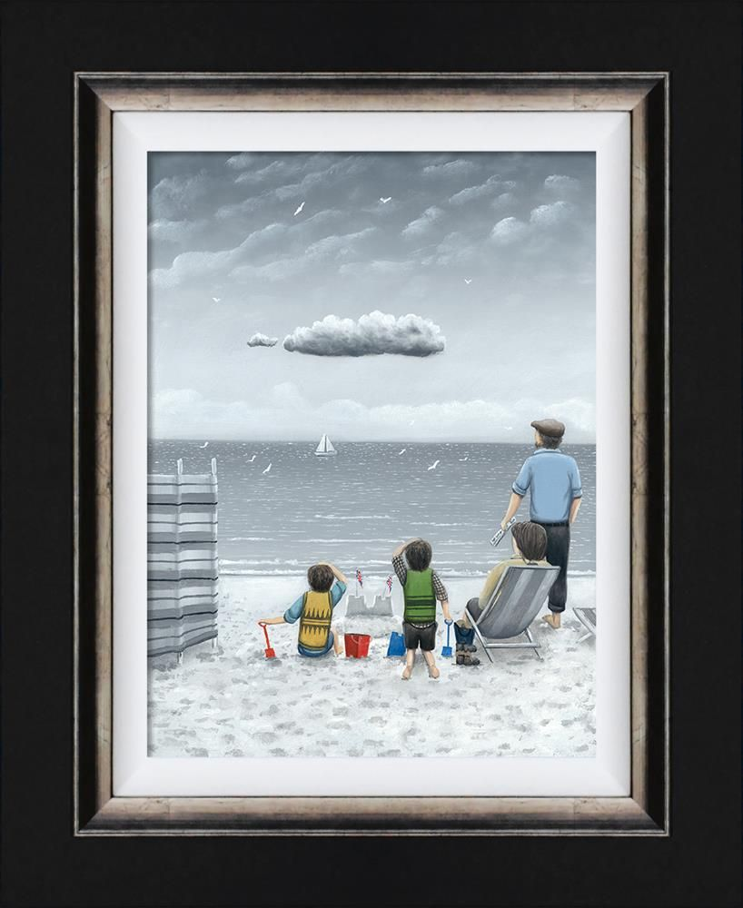 Trouble on the Horizon (Canvas) by Leigh Lambert