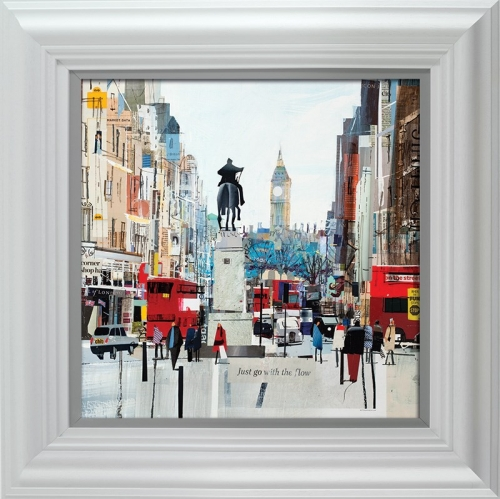 Whitehall Flow (framed) by Tom Butler