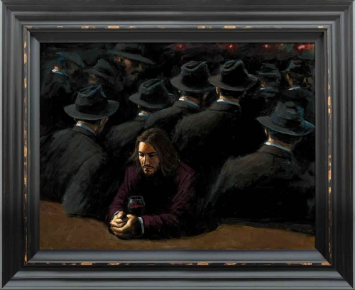 Untitled II Young (framed) by Fabian Perez