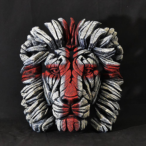 Lion Bust (England) by Matt Buckley of Edge Sculptures