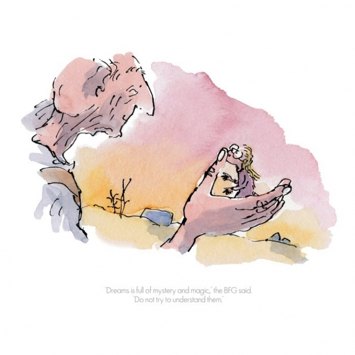 """""""Dreams Is Full Of Mystery and Magic"""" by Quentin Blake"""