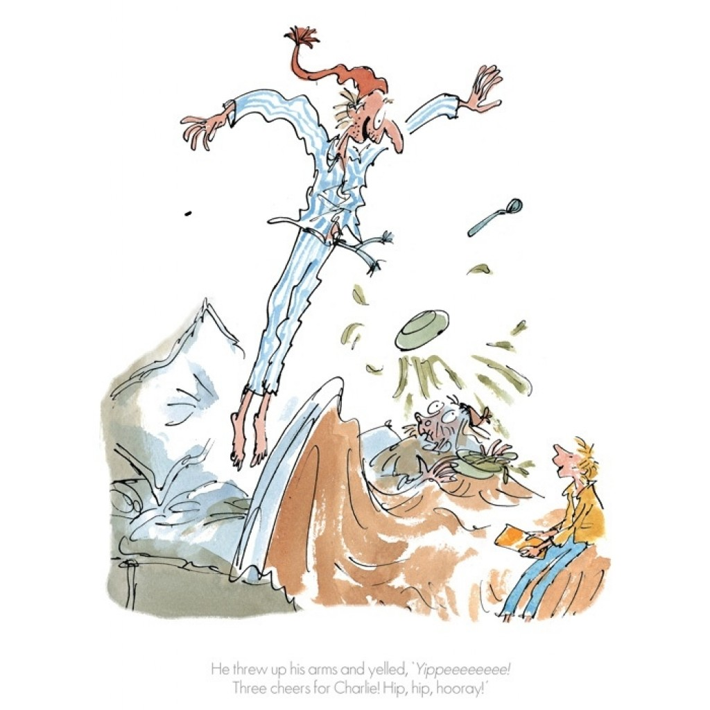 """""""Three Cheers For Charlie"""" by Quentin Blake"""