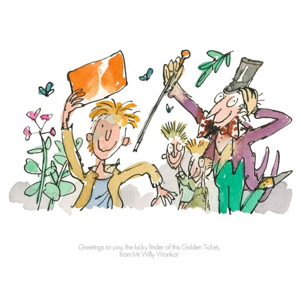"""Greetings to You"" by Quentin Blake"