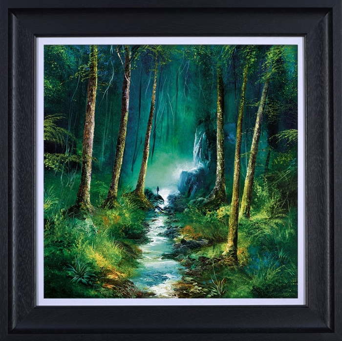Forest of Light framed by Philip Gray
