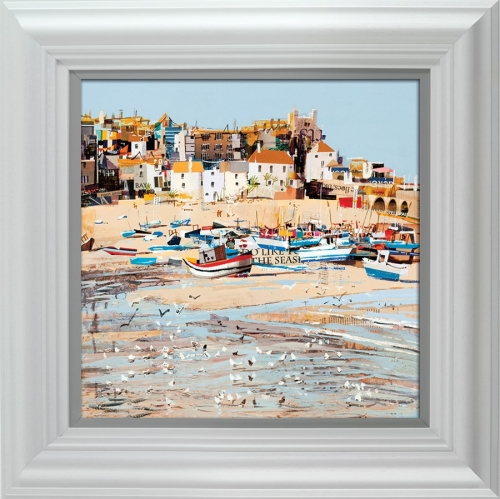 Low Tide, St Ives Bay framed