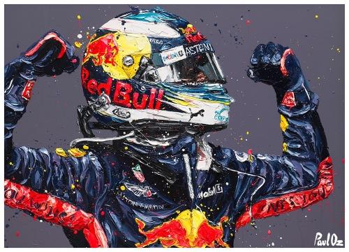 Ricciardo Retribution - Monaco '18 by Paul Oz