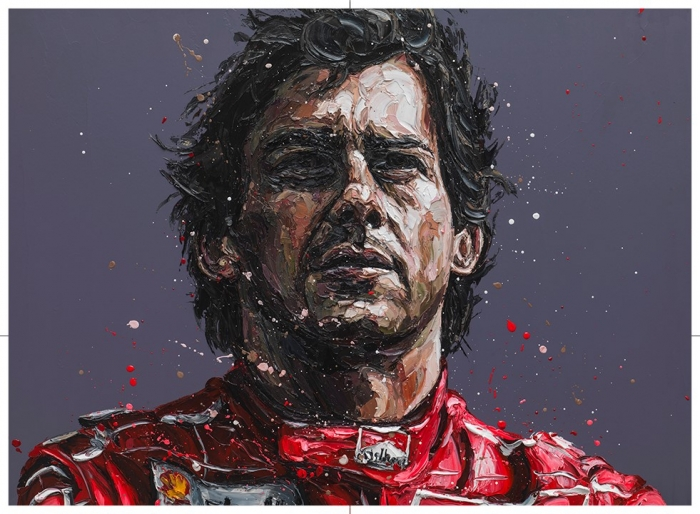 Senna - 24th Anniversary Commemorative by Paul Oz