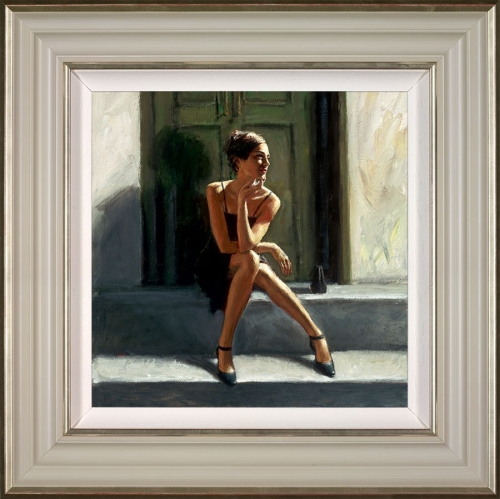 Waiting for the Romance to Come Back - Lucy by Fabian Perez framed