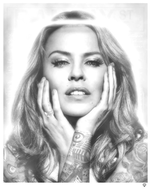 Kylie Minogue Black & White
