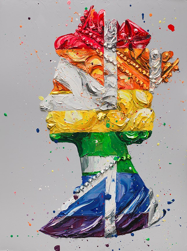 Pride Queen (canvas) by Paul Oz
