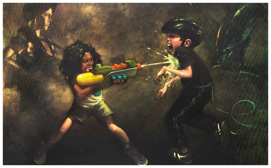 Ripley's Game (canvas) by Craig Davison