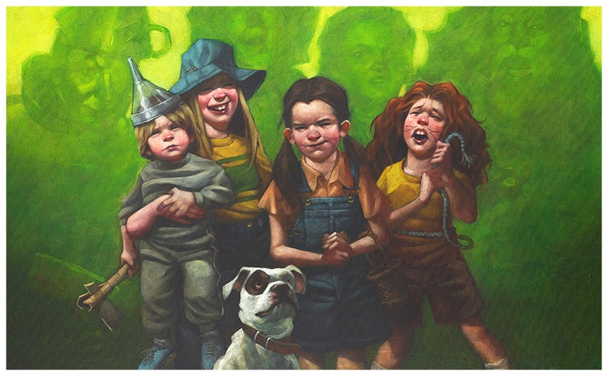 We're Off To See The Wizard (paper) by Craig Davison
