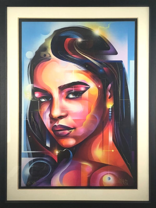 Golden Lady paper by Mr Cenz