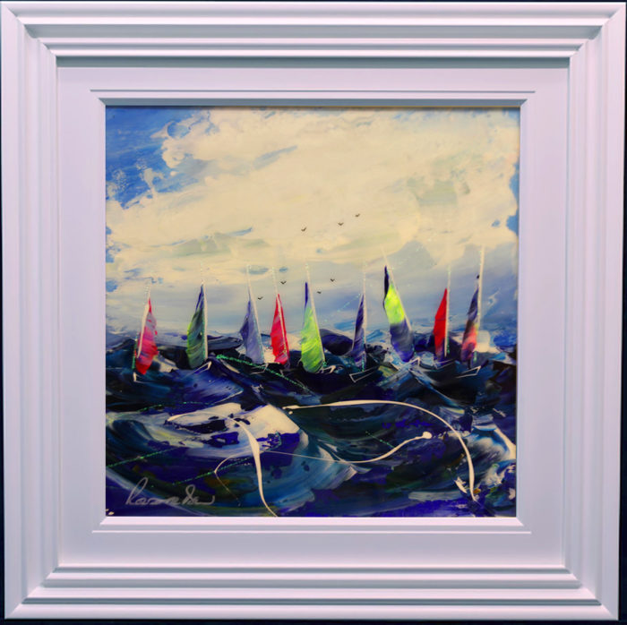 Regatta III by Roz Bell