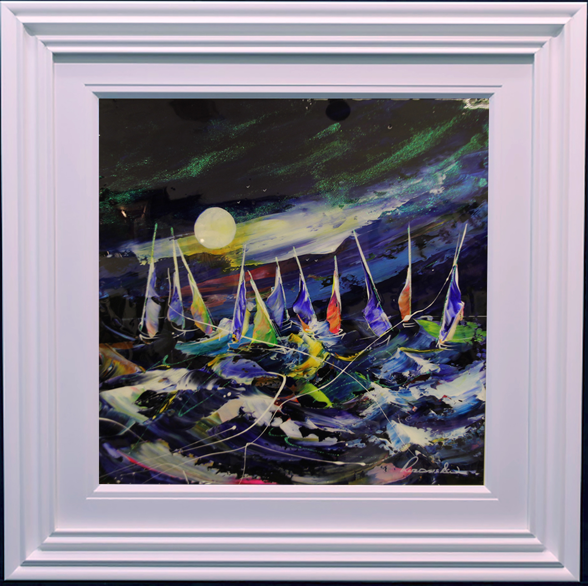 Regatta I by Roz Bell